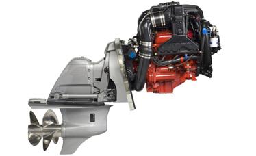 Volvo Penta Benzinski Brodski Motor - V6